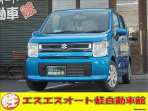 スズキ ワゴンR HYBRID FX CDプレーヤー装着車 ブラック内装 ちょい乗りカー