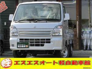 スズキ キャリイトラック KC スペシャル エアコン+パワステ 届出済未使用車