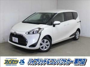 トヨタ シエンタ X 登録済未使用車 コンパクトカー 7人乗り 小型ミニバン