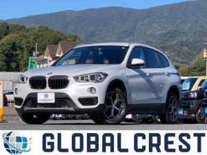 BMW X1 xDrive 18d 4WD 衝突被害軽減ブレーキ 純正ナビ ETC バックカメラ クリアランスソナー LEDライト オートライト 純正アルミホイール パワーシート アイドリングストップ スマートキー プッシュスタート