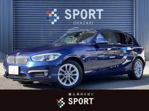 BMW 1シリーズ 118d Style ディーゼル インテリジェントセーフティ 純正ナビ バックカメラ ハーフレザーシート LEDヘッドライト ミラーインETC 純正アルミホイール クルーズコントロール