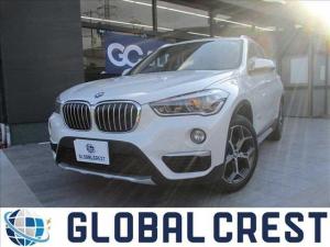 BMW X1 xDrive 18d xライン 4WD 衝突被害軽減ブレーキ レザーシート 純正ナビ ETC バックカメラ DVD再生 CD再生 クリアランスソナー LEDライト オートライト 純正アルミホイール アイドリングストップ スマートキー