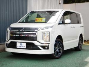 三菱 デリカD:5 2.2Dア-バンギア Gパワ- 4WD 10インチナビ全方位