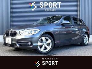 BMW 1シリーズ 118d スポーツ 純正HDDナビ Bカメラ インテリジェントセーフティ LEDヘッドライト ミラーインETC 純正アルミホイール クルーズコントロール