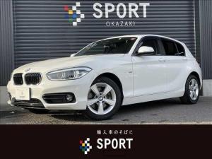 BMW 1シリーズ 118d Sport 後期モデル ディーゼル インテリジェントセーフティ クルーズコントロール 純正ナビTV Bカメ 純正アルミホイール LEDヘッドライト ETC