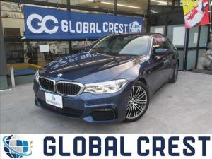 BMW 5シリーズ 523d Mスポーツ 衝突被害軽減ブレーキ サンルーフ HDDナビ ETC 全方位カメラ フルセグTV DVD再生 CD再生 LEDライト オートライト パークアシスト 純正アルミホイール アイドリングストップ