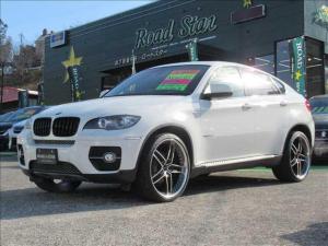 BMW X6 xDrive 35i 保証付 4WD サンルーフ レッドレザーシート 純正HDDナビ ETC バックカメラ HIDライト オートライト 純正アルミホイール パワーシート シートヒーター キーレス 電動格納ミラー