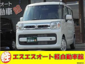 スズキ スペーシア HYBRID X ピュアホワイトパール塗装 届出済未使用車