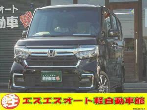 ホンダ N-BOXカスタム カスタム L Honda SENSING 届出済未使用車