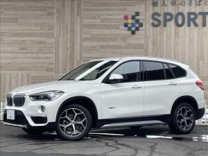 BMW X1 sDrive 18i xライン 1オーナー インテリセーフ 純正ナビ バックカメラ ハーフレザーシート パワーバックドア LEDヘッドライト コンフォートアクセス ミラーインETC 純正アルミホイール