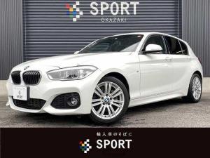 BMW 1シリーズ 118d Mスポーツ インテリセーフ 純正ナビ クルーズコントロール 純正アルミホイール ミラーインETC Bluetooth プッシュスタート
