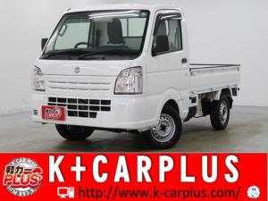 スズキ キャリイトラック KCエアコン・パワステ パートタイム4WD 5速MT パワステ ABS