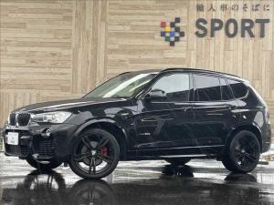 BMW X3 xDrive 20d Mスポーツ アクティブクルーズ インテリセーフ 純正HDDナビ フルセグ バックカメラ 茶革 シートヒーター・メモリー パワーバックドア 純正20インチAW ヘッドアップディスプレイ