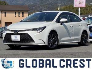 トヨタ カローラ G-X トヨタセーティーセンス 衝突被害軽減ブレーキ SDナビ ETC バックカメラ Bluetooth接続 LEDライト オートライト オートマチックハイビーム レーンアシスト 純正アルミホイール