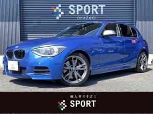 BMW 1シリーズ M135i インテリセーフ クルーズコントロール 純正HDDナビ バックカメラ ETC コンフォートアクセス パドルシフト パワーシート シートメモリー HIDヘッドライト 純正アルミホイール