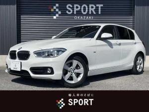 BMW 1シリーズ 118d スポーツ 後期モデル ディーゼル インテリセーフ 純正HDDナビ クルーズコントロール 純正アルミホイール LEDヘッドライト プッシュスタート ミラーインETC ステアリングスイッチ