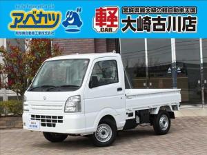 スズキ キャリイトラック KCエアコン・パワステ 5速マニュアル 軽トラ 届出済未使用車 4WD