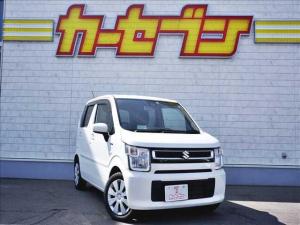 スズキ ワゴンR ハイブリッドFX セーフティーパッケージ ワンオーナー/4WD/衝突軽減ブレーキ/アイドリングストップ/前席シートヒーター/スマートキー2コ/プッシュスタート/ヘッドアップディスプレイ/電格ミラー/フロアマット