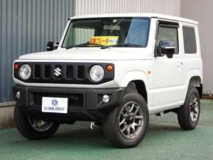 スズキ ジムニー XC 4WD ピュアホワイトパール塗装 8インチナビ
