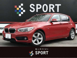 BMW 1シリーズ 118d スポーツ 純正ナビ バックカメラ パークディスタンスコントロール クルコン インテリジェントセーフティ ETC ステアリングリモコン