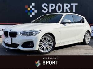 BMW 1シリーズ 118d Mスポーツ 純正ナビ バックカメラ ETC インテリジェントセーフティ クルコン レーンディパーチャー 純正アルミ LEDヘッドライト パークディスタンスコントロール