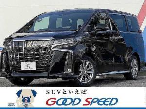 トヨタ アルファード 2.5S タイプゴールド 新車未登録 サンルーフ ディスプレイオーディオ 両側電動スライドドア セーフティーセンス レーダークルーズコントロール 100V電源 ハーフレザーシート スマートキー LEDヘッド
