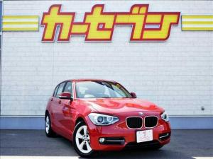 BMW 1シリーズ 116i スポーツ メーカー純正HDDナビ/CD・DVD再生/ミュージックサーバー/バックモニター/ETC/HIDヘッドライト/フォグランプ/純正16インチAW/クルコン/アイドリングストップ/スマートキー2本
