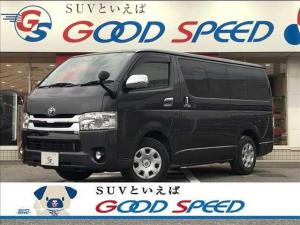 トヨタ ハイエースバン スーパーGL 純正ナビ AC100 Bカメラ オートエアコン エアバック スライドドア LEDヘッドライト Bluetooth接続 ディーゼル ステアリングスイッチ