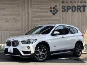 BMW X1 ◆ディーゼル xDrive 18d xLine RHD 純正ナビゲーション バックカメラ 衝突軽減ブレーキ ETC 革シート 電動リアゲート HIDヘッドライト クリアランスソナー シートヒーター