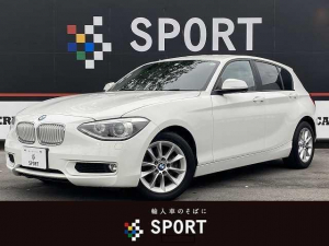 BMW 1シリーズ 116i Style ワンオーナー 禁煙 ハーフレザー 純ナビ
