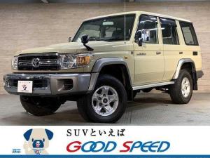 トヨタ ランドクルーザー70 30th アニバーサリー バン 純正SDナビ フルセグ デフロック ETC 4WD 5MT Bluetooth エアコン キーレス