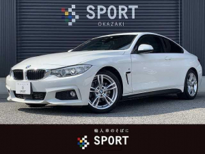 BMW 4シリーズ 420i M Sport ワンオーナー HIDヘッドライト アダプティブクルーズコントロール 純正HDDナビ インテリジェントセーフティ バックカメラ スマートキー パワーシート