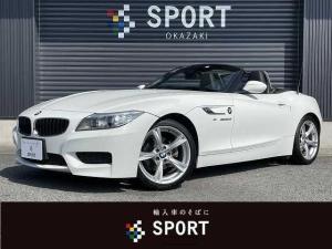 BMW Z4 sDrive20i Mスポーツ 純正HDDナビ バックカメラ レザーシート シートヒーター シートメモリー パワーシート ETC 純正18inアルミ