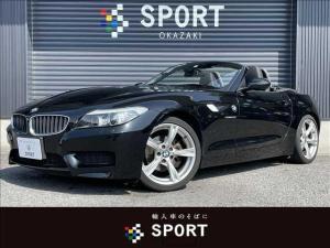 BMW Z4 sDrive20i M Sport 純正HDDナビ ブラックレザーシート ETC パドルシフト ステアリングリモコン  ETC車載器 純正アルミ キセノンヘッドライト シートヒーター