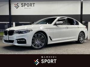 BMW 5シリーズ 523d M Sport アクティブクルーズコントロール インテリセーフ アラウンドビューモニター 純正ナビTV 純正19AW