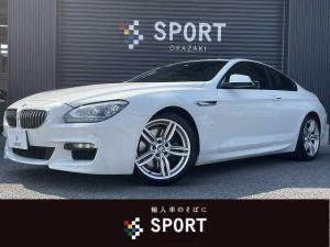 BMW 6シリーズ 640i M Sport 純正HDDナビ バックカメラ  ガラスサンルーフ 黒革シート メモリー付きパワーシート シートヒーター コンフォートアクセス クルーズコントロール LED