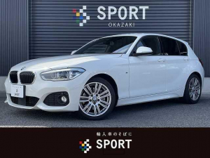 BMW 1シリーズ 118d MSport 後期モデル 純正HDDナビ バックカメラ インテリジェントセーフティ インテリセーフ アクティブクルコン LEDヘッド クリアランスソナー