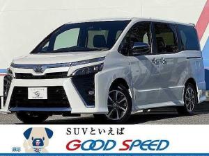 トヨタ ヴォクシー ZS 煌III 新車未登録 両側電動スライドドア スマートキー プッシュスタート セーフティーセンス クルーズコントロール ハーフレザーシート LEDヘッド