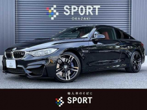 BMW M4 M4 クーペ R/LHD 純正HDDナビ バックカメラ Bluetoothオーディオ シートヒーター Mドライブ 衝突軽減ブレーキ クリアランスソナー 純正19インチアルミ メモリ付きパワーシート ステアリングリモコン