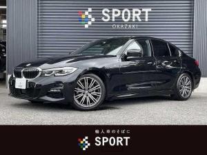 BMW 3シリーズ 320d xDrive M Sport 4WD 純正ナビ アダプティブクルーズコントロール レーンチェンジウォーニング シートヒーター ハーフレザーシート パドルシフト メモリ付きパワーシート LEDヘッドライト 純正18インチ ETC
