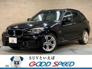 BMW X1 sDrive18i M Sport 純正HDDナビ クリアランスソナー ETC車載 スマートキー プッシュスタート HID クリアランスソナー