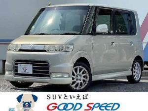 ダイハツ タント カスタムVS ユーザー買取車 スマートキー HIDヘッド オートエアコン パワーウインドウ 純正15インチAW フォグランプ