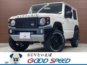 スズキ ジムニー XL 4WD ダムドリトルDカスタム シートヒーター スマートキー 5速MT ダウンヒルアシストコントロール 純正16インチAW 背面タイヤ ミラーヒーター