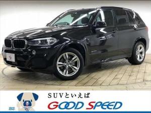BMW X5 xDrive 35d Mスポーツ 4WD サンルーフ レザーシート シートヒーター レーダークルーズコントロール パワーバックドア メーカーマルチナビ フルセグTV パドルシフト アドバンスドキー 純正19インチAW ソナー