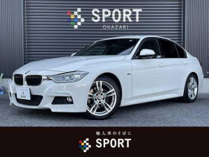 BMW 3シリーズ 320d Mスポーツ 純正ナビ メモリ付きパワーシート バックモニター コンフォートアクセス キセノン クリアランスソナー Bluetoothオーディオ レーンチェンジウォーニング パドルシフト ETC車載器 クリソナ