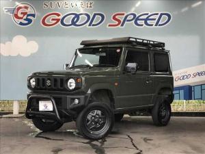 スズキ ジムニー XL 4WD リフトアップ SDナビTV バックカメラ スマートキー セーフティサポート LEDヘッド 5速MT グリルガード ルーフラック フォグランプ