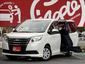 トヨタ ノア  サイドリフトアップシート装着車 X 7人 純正ナビ ETC パワースライドドア 福祉車両