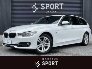 BMW 3シリーズ 320iツーリング スポーツ 純正ナビ アダプティブクルーズコントロール キセノンヘッドライト メモリ付きパワーシート Bluetoothオーディオ コンフォートアクセス パワーテールゲート フォグランプ クリアランスソナ ETC