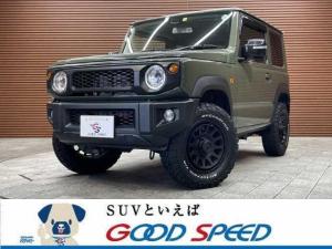 スズキ ジムニー XC 4WD 純正9インチナビ バックモニター シートヒーター スマートキー LEDヘッド スズキセーフティS クルーズコントロール デルタフォースAW オールテレーンタイヤ ETC車載器