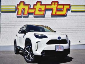 トヨタ ヤリスクロス ハイブリッドZ ユーザー買取車/純正メモリナビ/BTオーディオ/アラウンドビューモニター/純正18インチAW/LEDヘッドライト/スマートキー2コ/プッシュスタート/トヨタセーフティーセンス/前後コーナーセンサー